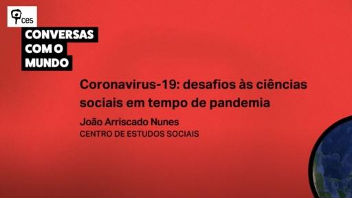 Coronavirus-19: desafios às ciências sociais em tempo de pandemia