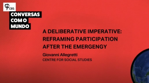 A Deliberative Imperative: reframing participation after the emergency