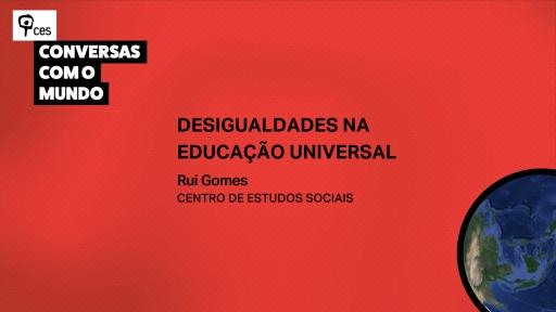 Desigualdades na educação universal