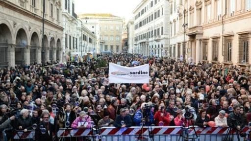Grassroots movements can rise during this crisis – Italy's Sardines group shows how