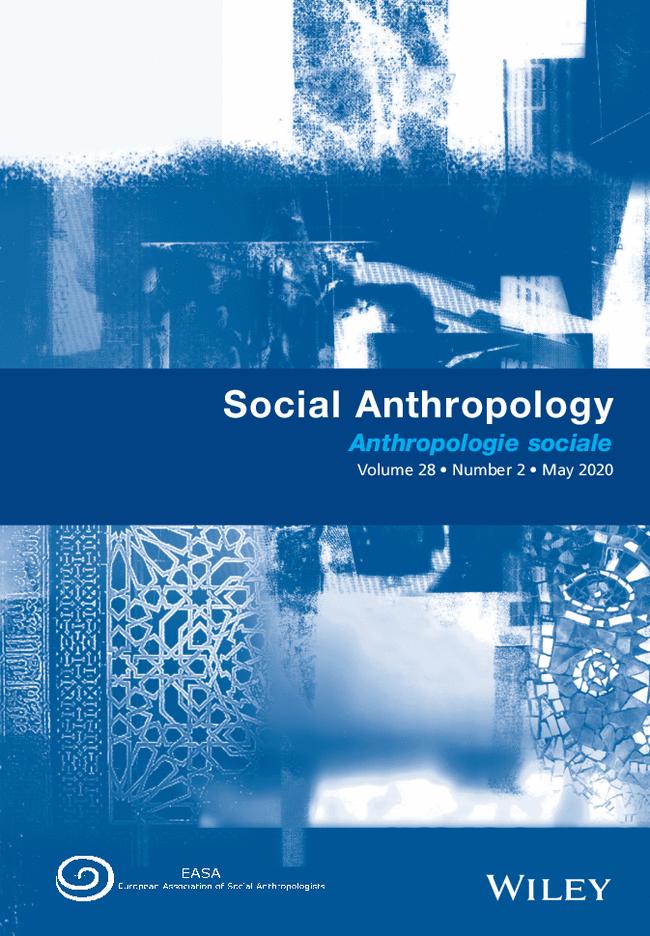 Número da Social Anthropology sobre COVID-19