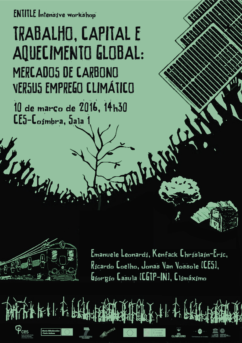 "Carbon Trading After COP 21: Market Analysis, Policy Perspectives and the Role of Climate Justice Movements<span id=""edit_13098""><script>$(function() { $('#edit_13098').load( ""/myces/user/editobj.php?tipo=evento&id=13098"" ); });</script></span>"