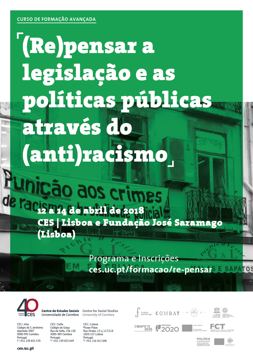 "(Re)thinking law and public policing through (anti)racism<span id=""edit_19401""><script>$(function() { $('#edit_19401').load( ""/myces/user/editobj.php?tipo=evento&id=19401"" ); });</script></span>"