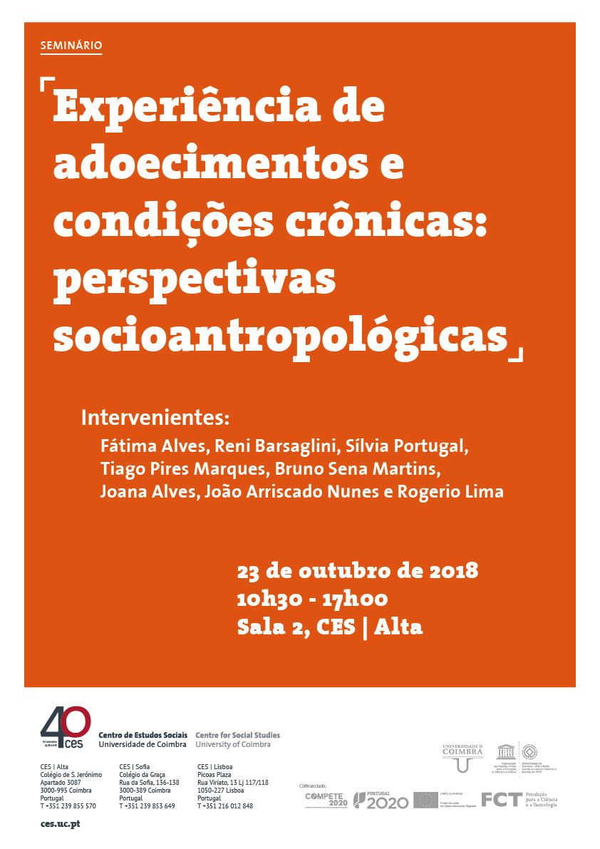 "Experience of diseases and chronic conditions: socio-anthropological perspectives<span id=""edit_20607""><script>$(function() { $('#edit_20607').load( ""/myces/user/editobj.php?tipo=evento&id=20607"" ); });</script></span>"