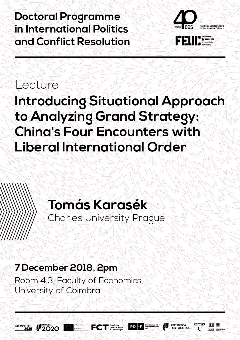 "Introducing Situational Approach to Analyzing Grand Strategy: China's Four Encounters with Liberal International Order<span id=""edit_20792""><script>$(function() { $('#edit_20792').load( ""/myces/user/editobj.php?tipo=evento&id=20792"" ); });</script></span>"