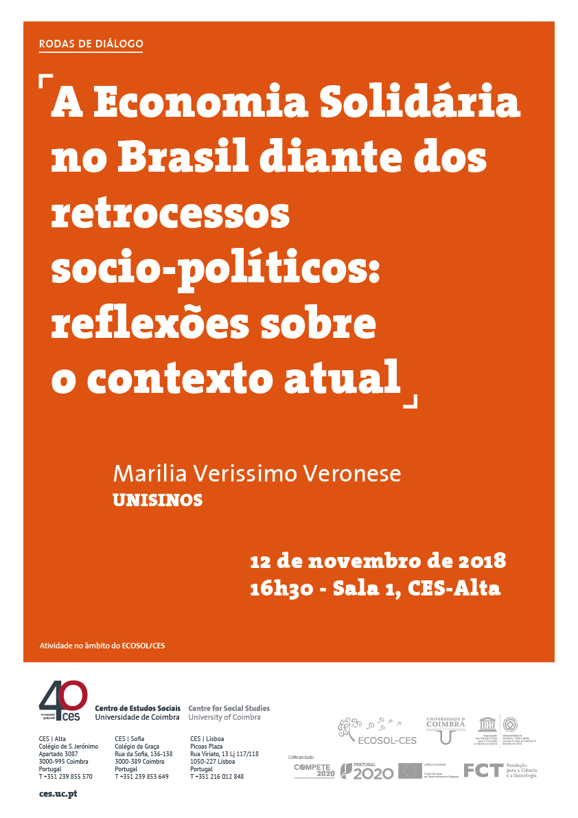 "Solidarity Economy in Brazil in the face of socio-political setbacks: reflections on the current context<span id=""edit_21442""><script>$(function() { $('#edit_21442').load( ""/myces/user/editobj.php?tipo=evento&id=21442"" ); });</script></span>"