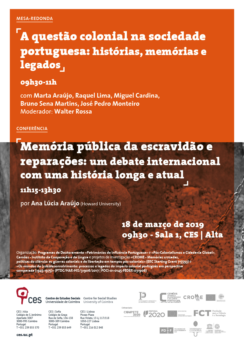 "Public memory of slavery and reparations: an international debate with a long and current history<span id=""edit_23828""><script>$(function() { $('#edit_23828').load( ""/myces/user/editobj.php?tipo=evento&id=23828"" ); });</script></span>"