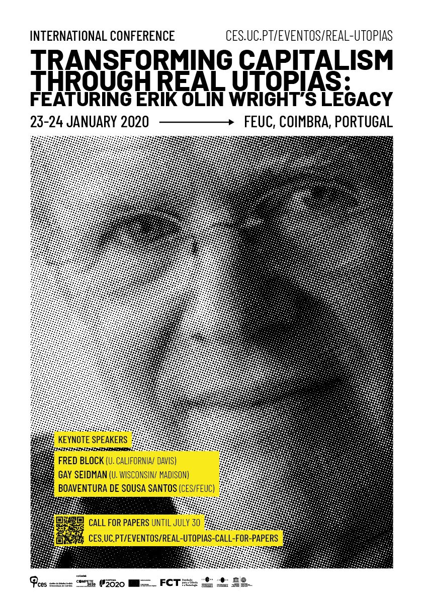 "Transforming Capitalism through Real Utopias. Featuring Erik Olin Wright's legacy<span id=""edit_24677""><script>$(function() { $('#edit_24677').load( ""/myces/user/editobj.php?tipo=evento&id=24677"" ); });</script></span>"