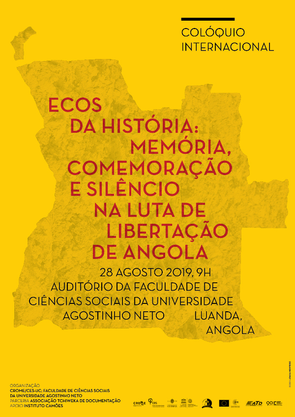 "Echoes of History: Memory, Commemoration and Silence in the Liberation Struggle of Angola<span id=""edit_25440""><script>$(function() { $('#edit_25440').load( ""/myces/user/editobj.php?tipo=evento&id=25440"" ); });</script></span>"