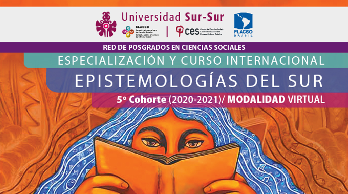 "Epistemologías Del Sur (5th edition | 2020-2021)<span id=""edit_27993""><script>$(function() { $('#edit_27993').load( ""/myces/user/editobj.php?tipo=evento&id=27993"" ); });</script></span>"