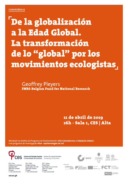 "From globalisation to the Global Age. The transformation of the ""global"" by environmental movements<span id=""edit_22021""><script>$(function() { $('#edit_22021').load( ""/myces/user/editobj.php?tipo=evento&id=22021"" ); });</script></span>"