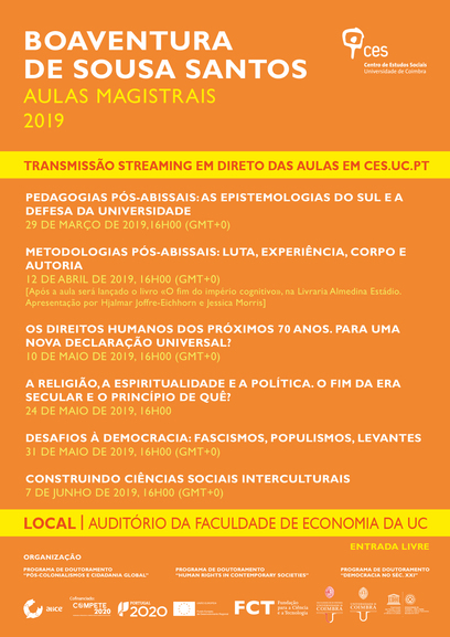 "Challenges to democracy: fascism, populism, uprisings<span id=""edit_23324""><script>$(function() { $('#edit_23324').load( ""/myces/user/editobj.php?tipo=evento&id=23324"" ); });</script></span>"