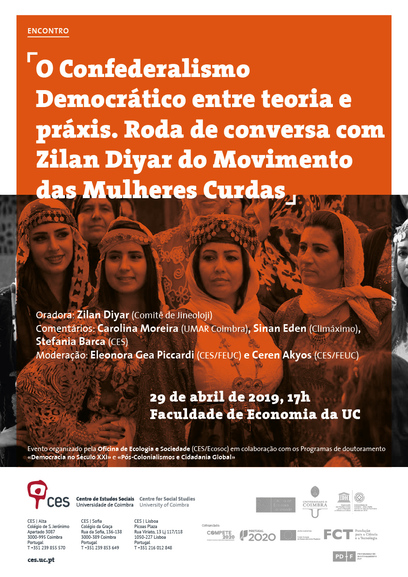 "Democratic Confederalism between theory and praxis. A talk with Zilan Diyar of the Kurdish Women's Movement<span id=""edit_23851""><script>$(function() { $('#edit_23851').load( ""/myces/user/editobj.php?tipo=evento&id=23851"" ); });</script></span>"