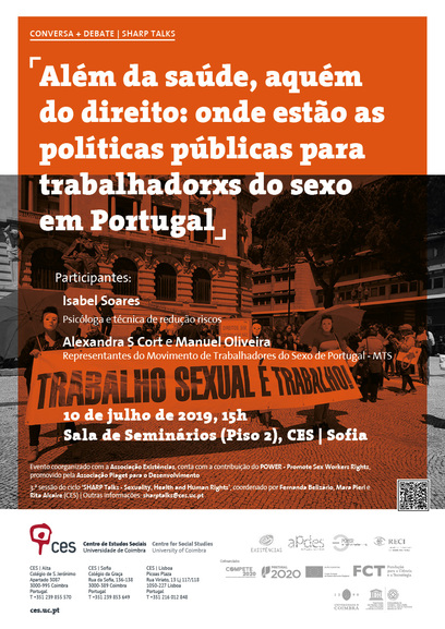 Beyond health, far behind rights: where are the public policies for sex workers in Portugal<br />