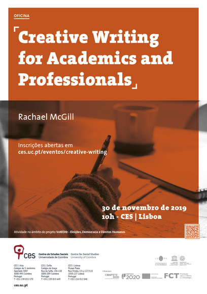 "Creative Writing for Academics and Professionals<span id=""edit_26551""><script>$(function() { $('#edit_26551').load( ""/myces/user/editobj.php?tipo=evento&id=26551"" ); });</script></span>"
