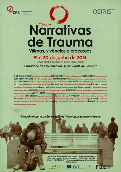 "Narrativas de Trauma: Vítimas, vivências e processos<span id=""edit_8495""><script>$(function() { $('#edit_8495').load( ""/myces/user/editobj.php?tipo=evento&id=8495"" ); });</script></span>"